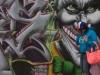 Woman and Graffiti, 5 Pointz, Queens