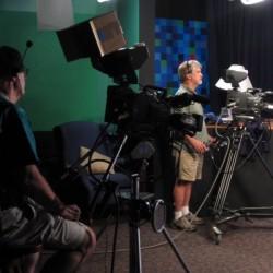 Jeff and Glenn on camera